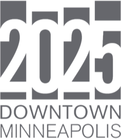 2025 downtown minneapolis plan logo